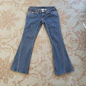 True Religion Joey Flare Women's Jeans Size 28